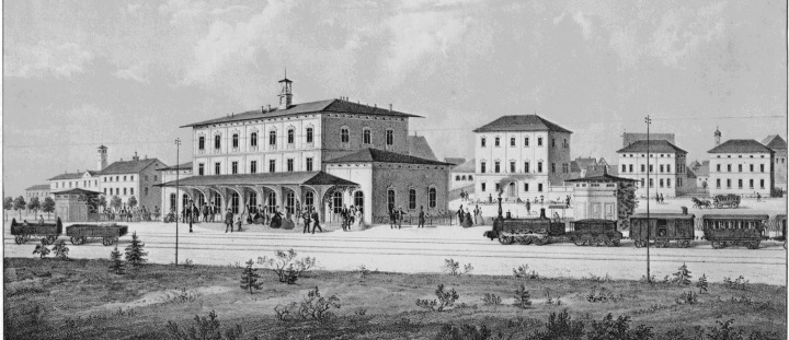 Historische Authentizität (Bahnhof und Bahnhofsquartier um 1870)